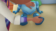 Star blazer zero's broken legs