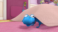 Stuffy under the blanket