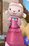Lambie in her 1800s Dress