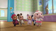 Baby lambie and baby toys