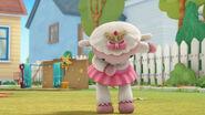 Princess lambie takes a bow