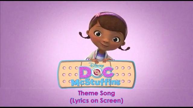 Doc McStuffins - Theme Song (Lyrics on Screen)