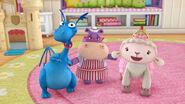Stuffy, hallie and lambie