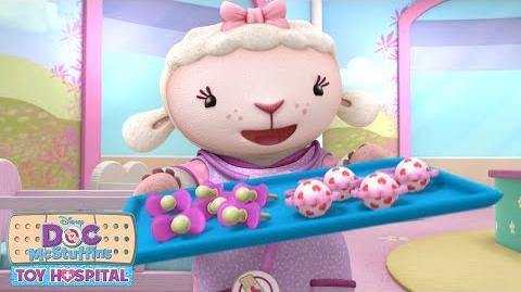 Lambie is Ready! Doc McStuffins Disney Junior