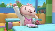 Lambie raises her hand