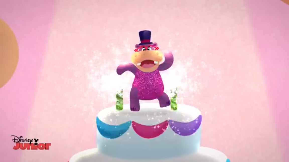Image Animated Hallie On A Giant Birthday Cakeg Doc