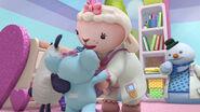 Lambie cuddles maya's baby toys