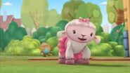 Lambie with charlie behind