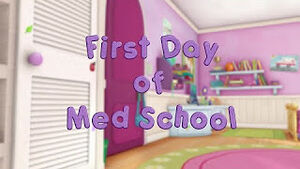 First day of med school title