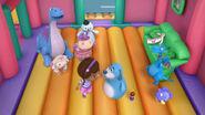 Bouncy house boo boos end shot