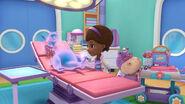 Doc puts stuffy to sleep