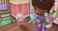 Lambie, doc and maya's baby toys