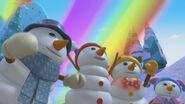 Four snowpeeps