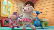 Hallie, lambie and stuffy