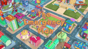 The emergency plan title