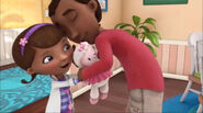 Doc, lambie and mr mcstuffins