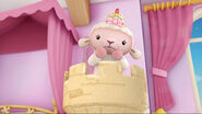 Princess lambie trapped in a tower castle