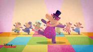 Animated hallie at disco2