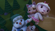 Baby lambie, baby chilly and cat baby toy