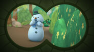 Chilly seen through binoculars