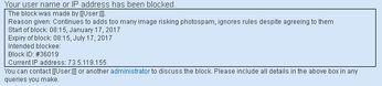 Disney Wiki Blocked