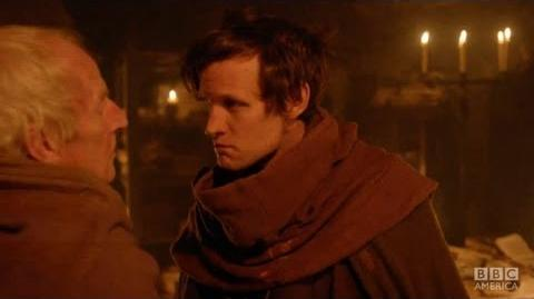 "DOCTOR WHO ""The Mad Monk"" - The Bells of Saint John BBC AMERICA"