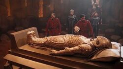 The Tomb Of An Ice Queen Empress Of Mars Preview Doctor Who Series 10 BBC