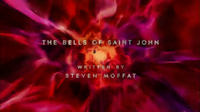 The Bells of Saint John (ouverture)