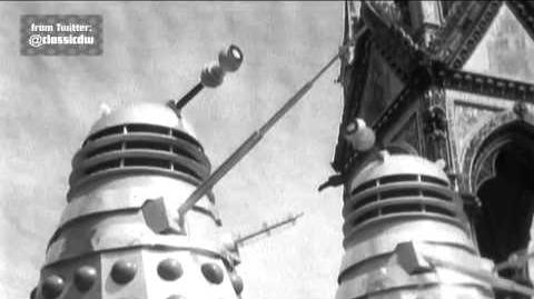 Exclusive First Look Dalek Invasion Test Promo - Doctor Who - BBC