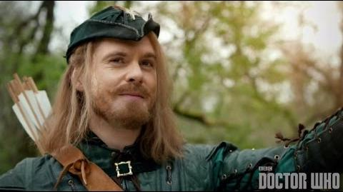 No such thing as Robin Hood! - Robot of Sherwood Preview - Doctor Who series 8 - BBC
