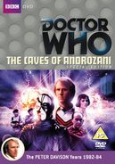 Caves of Androzani DVD Cover