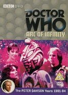 Arc of Infinity DVD Cover