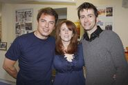 Catherine Tate, David Tennant John Barrowman