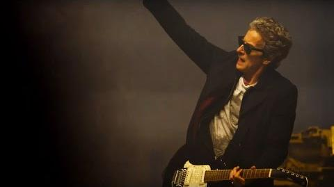 The Doctor's Guitar Entrance - The Magician's Apprentice - Doctor Who - BBC