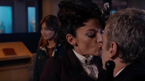 Missy Kisses The Doctor Dark Water Doctor Who