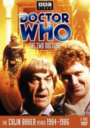 The Two Doctors DVD Cover