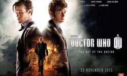 The Day of the Doctor (poster)