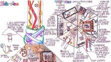 Susannah Leah TARDIS console design