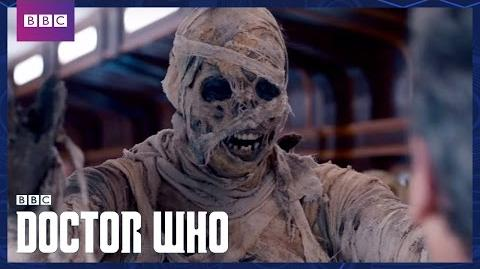 The Doctor vs The Foretold Mummy On The Orient Express Doctor Who BBC