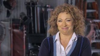 River the Bad Girl - The Husbands of River Song - Doctor Who Christmas Special – BBC