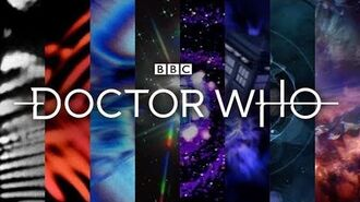 ALL Doctor Who Title Sequences (UPDATED) - Doctor Who