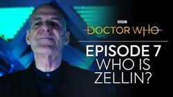 Who is Zellin? Can You Hear Me? Doctor Who