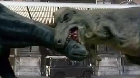 Special Feature Dinosaur FX Doctor Who - Invasion of the Dinosaurs
