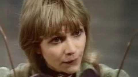 The Third Doctor's New Companion Jo Grant - Doctor Who - Terror of the Autons.- BBC
