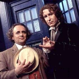 Seventh and Eighth Doctor Doctor Who the Movie