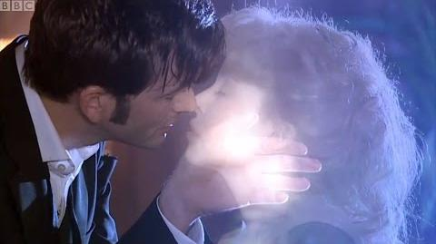 The Doctor Kisses 'Stardust' Astrid - Doctor Who - Voyage of the Dammed - BBC