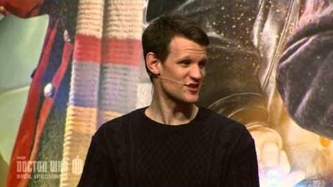 Matt Smith's Final Panel - Full Q&A - The Eleventh Hour - Doctor Who 50th Anniversary