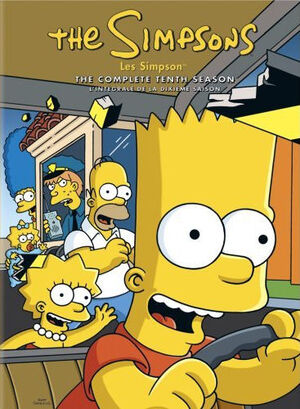 Simpsons complete tenth season canada dvd