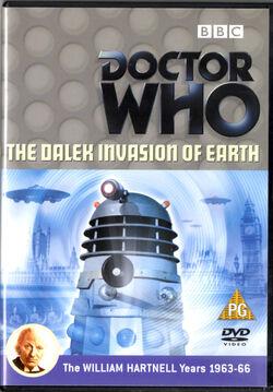 Dalek invasion of earth uk dvd promo