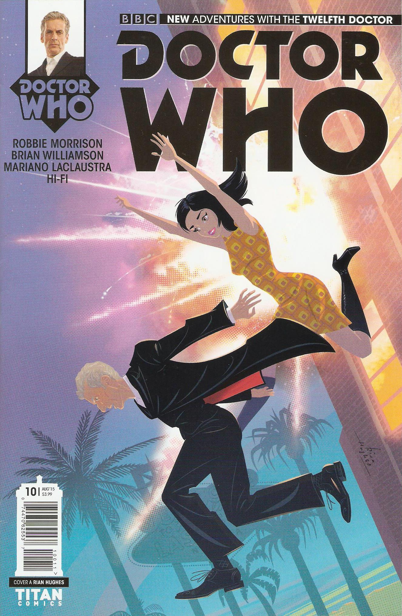 Twelfth doctor issue 10a